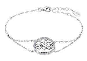 Lotus Silver TREE OF LIFE | Armband Lebensbaum & Zirkonia LP1746-2/1