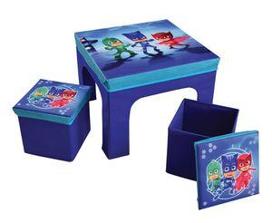 Disney PJ Masken Klapptisch mit blauen Stühlen