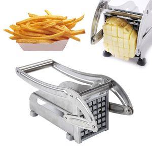 Kartoffelschneider Edelstahl Pommesschneider Schneidemaschine Küche Schneider