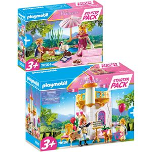 PLAYMOBIL 70500 70504 Princess 2er Set Starter Pac