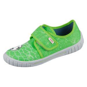 Superfit Kinder Hausschuhe  Textil grün 29