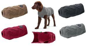 Hunter Hundepullover Malmö versch. Größen und Farben, Größe:45 cm, Farbe:grau
