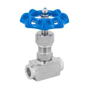 """Hochdruck Nadelventil IG - Absperrventil mit Metallhandrad - Regulierventil oder Durchflussbegrenzer. Size: 1/4"""""""