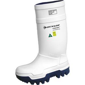Dunlop Purofort Thermo+ full safety S5 CI SRC Winterstiefel - Größe 47 - weiß