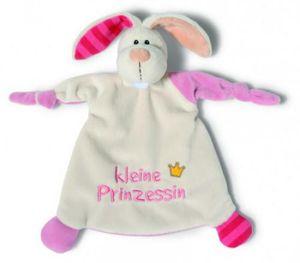 NICI Schmusetuch Hase kleine Prinzessin