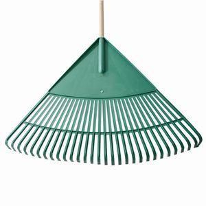 Siena Garden PP045 Kunststoff Laubbesen, mit Stiel 76cm, 30 Zimken, 120x24 (1 Stück)