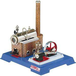 Wilesco 00010, Dampfmaschinenmodell, Vormontiert, Mehrfarben, Messing, 260 mm, 200 mm