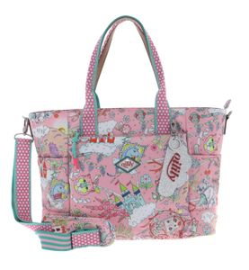 Oilily Castle in the Clouds Baby Bag Rose Shadow