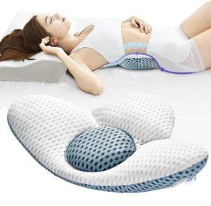 Lendenkissen Orthopädisches Lendenwirbelsäule Schlafunterstützung Lordosenstütze Bett Kissen für Ischias Schwangerschaft Hüfte- oder Beinschmerzen