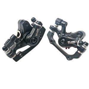 1 Paar Mechanische Scheibenbremse Mountainbike Vorne Und Hinten Bremssättel   160mm