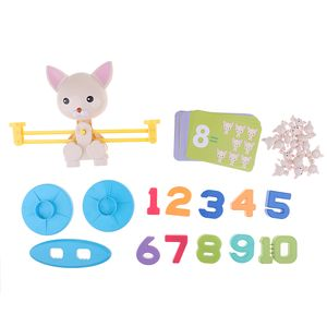 Mathe Lernen Waage Spielwaage Balkenwaage Lernspielzeug Hund wie beschrieben