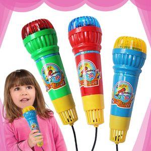 Kinder Echo Mikrofon Mikrofon Voice Changer Spielzeug Geburtstagsfeier Song Toy Child Geschenk