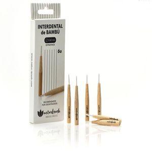 Interdental-Zahnbürste Naturbrush 0.60 mm Bambus (6 Stück)