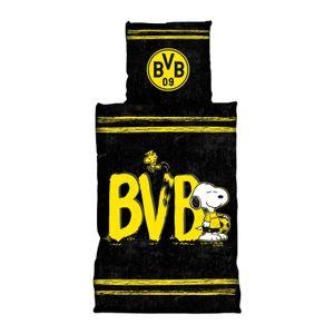 "Borussia Dortmund  Bettwäsche ""Snoopy""  135 x 200 cm"