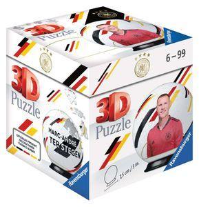 RAVENSBURGER 3D Puzzle-Ball DFB-Nationalspieler Marc-André ter Stegen 54 Teile
