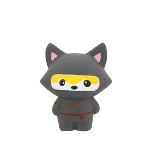 Grindstore Ninja-Fuchs-Stressball GR473 (Einheitsgröße) (Grau)