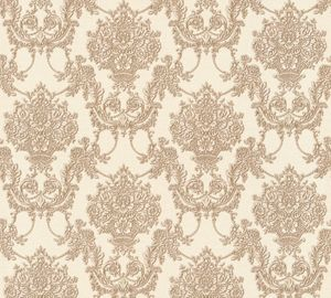 A.S. Création Vliestapete Château 5 Tapete beige braun metallic 10,05 m x 0,53 m 344925 34492-5