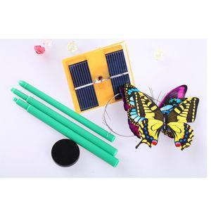 Lebensechte Solar tanzende Schmetterlings Spielzeug Gartendeko