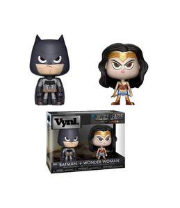 Funko DC Comics VYNL Vinyl Figuren Doppelpack Wonder Woman & Batman 10 cm FK30846