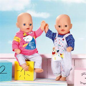 ZAPF 827932 BABY born® Little Freizeit Outfit 36 cm - sortiert