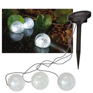 HI Solar LED Schwimmende Teichleuchte 9 cm