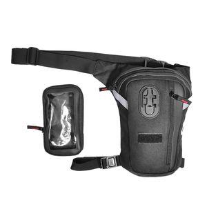 Hochwertige Beintasche Hüfttasche, Damen Herren Oberschenkeltasche Gürteltasche für Reisen Camping Radfahren usw.