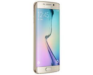 Samsung Galaxy S6 Edge (5,1 Zoll) 32 / 64 GB Weiß / Gold / Schwarz / Grün, Farbe:gold, Speicher:128 GB, Zustand:Neu in