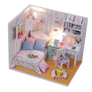 1 Stück DIY Puppenhaus
