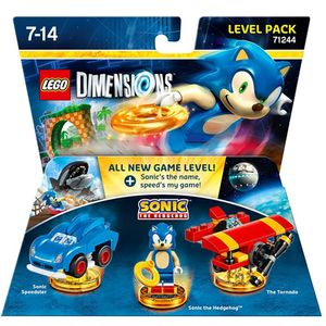 Lego Dimensions Level Pack - Sonic 71244