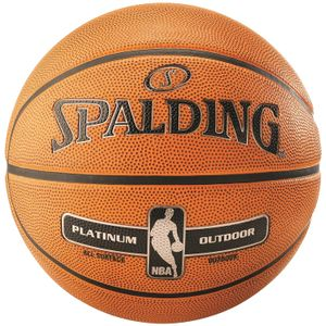 SPALDING NBA PLATINUM OUTDOOR SZ.7 (83-493Z) 01 orange 7