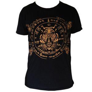 PANASIAM T-Shirt Garuda Tiger, Farbe/Design:Tiger schwarz, Größe:XL