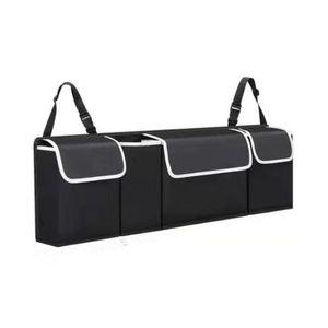 Auto Trunk Organizer Auto Innen Zubehör Zurück Sitz Lagerung Box Tasche Oxford hh