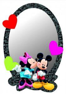 Micky Maus Deko-Spiegel - Mickey & Minnie (21 x 15 cm)