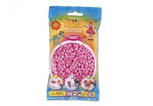 HAMA-Perlen Pastellpink 1000Stück, 1Beutel
