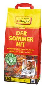 proFagus Der Sommer Hit Buchen Grillholzkohle zum grillen 2,5kg