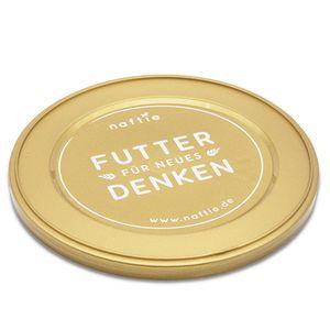 naftie Dosendeckel Futter Deckel für Hundefutter Futterdosen 800g Dosen, 1 Stück