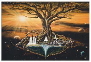 ARTland Alubilder Der Traum der Welten Alubild Größe: 60x40 cm