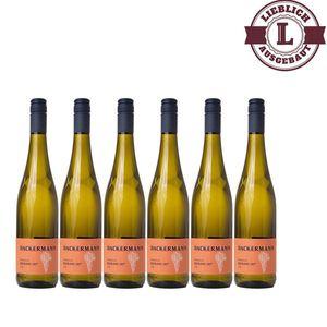 Weißwein Rheinhessen Riesling Auslese Weingut Dackermann 107° lieblich ( 6 x 0,75 l)