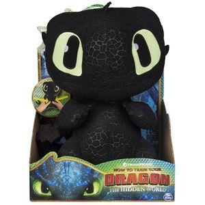 Ohnezahn Drache   DreamWorks Dragons   Plüsch Figur Interaktiv   Toothless