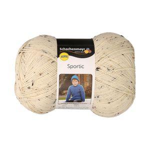 Schachenmayr Wolle, 400-g-Knäuel, Lauflänge ca. 1064 m, 100% Polyacryl, Farbe Natur-Tweed
