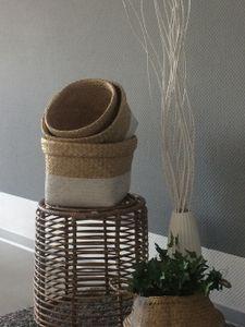 animal-design Aufbewahrungsbox FLAIR Seegras Aufbewahrungskorb in 3 Größen oder als Set , Größe:Größe 2
