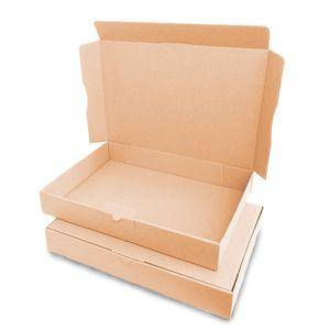 verpacking 5 Maxibriefkartons Versandkartons Faltschachtel Faltkarton Maxibrief 320 x 225 x 50 mm   Braun   MB-4