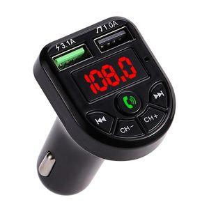 Bluetooth FM Transmitter Auto MP3 Player USB Adaper KFZ SD Freisprechanlage