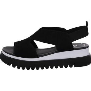 Gabor Sandale  Größe 5.5, Farbe: schwarz