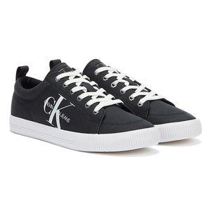 Calvin Klein Jeans Vulcanized Lace Up Schwarze Herren Sneaker