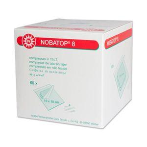 NOBA Nobatop 8 sterile Vliesstoffkompressen 4 - fach 50 x 2 Stück 10 x 10 cm