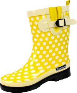 Damen Regenstiefel Dorin-K gelb/multi Gr. 39