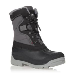 Winter-grip Schneestiefel Sr Canadian Explorer II Schwarz/Grau/Rot Winter-Schuhe, Größe:40