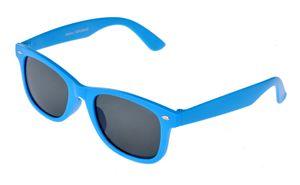 Kinder Wayfarer Sonnenbrille Lichtblau