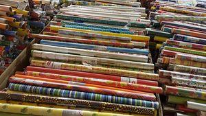 60 x Geschenkpapier 70cm x 2 Meter z.B. für Geburtstag Hochzeit Weihnachten
